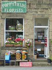 Poppyfields Florists, Gargrave by Tim Green aka atoach