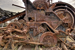 8) Little McMyler (95wombat) Tags: newyork abandoned statenisland derelict hdr arthurkill corroding marinegraveyard