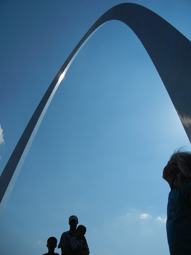 June 4 2011 St. Louis Arch Lee Clark Cal Shanna