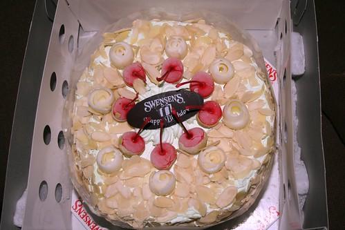 Swensen Ice Cream Cake Menu Ice Cream Birthday Cake