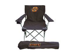 Oklahoma State TailGate Folding Camping Chair