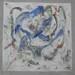 Azione 1; 1987. Acrilico su muro, cm 180x180.<br /> Maglione, Piazza Regina Margherita.<br />