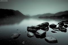 Ullswater Mist (.Brian Kerr Photography.) Tags: mist mountains landscape nationalpark rocks sony lakes lakedistrict cumbria alpha ullswater cumbrian a700