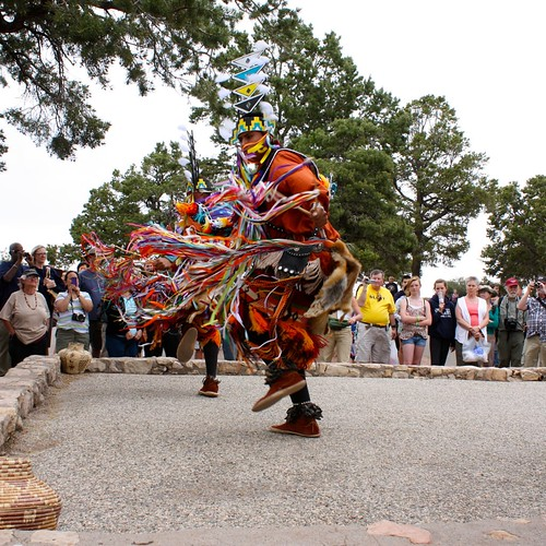 Navajo dancers at Grand Canyon's Hopi House