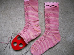 Bleeding Heart Socks