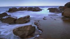 Forresters Rocks (Light Seeker FL) Tags: ocean beach slow nsw shutter forresters