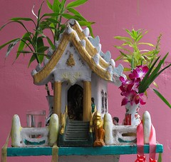 Spirit house (+PeterCH51+) Tags: thailand asia southeastasia spirithouse surin mywinners flickraward earthasia totallythailand peterch51