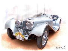 Jaguar SS 100 (1.937) (Roberto Fraile) Tags: auto espaa classic texture textura classiccar machine catalonia tex coche motor catalunya jaguar roberto texturas terraza automovil fraile finalgame robertofraile swallowsidecar flickrstruereflection1 rememberthatmomentlevel4 rememberthatmomentlevel1 rememberthatmomentlevel2 rememberthatmomentlevel3 rememberthatmomentlevel7 rememberthatmomentlevel9 rememberthatmomentlevel5 rememberthatmomentlevel6 rememberthatmomentlevel8 rememberthatmomentlevel10 vigilantphotographersunite vpu2 vpu3 vpu4 vpu5 vpu6 vpu7 vpu8