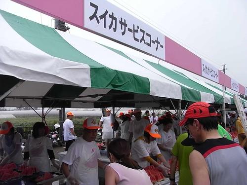 28th suika road race 2011〜suika service corner