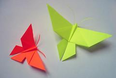 Origami-création - Didier Boursin - Papillons