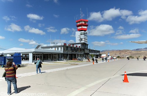 Sucre's invitingly teeny airport