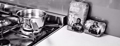 Boil with a Pinch of Salt (Spacemonkey1999) Tags: food kitchen jamie oliver cook pasta gas pot stove lr penne lightroom nikond5100