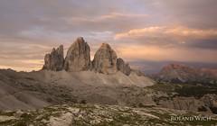 Drei Zinnen | Tre Cime (Rolandito.) Tags: italy italien italie alto adige sdtirol drei zinnen tre cime de alps alpen alpi berge mountains landscape lavaredo morning dawn sunrise twilight