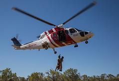 VMFA-122 medical team trains with Australian SAR crew (Nelson Dillehunt) Tags: southernfrontier pitchblack vmfa122 mag31 mcasiwakuni mals12 mag12 mwss171 fa18c hornets ordnance raaftindal royalaustralianairforce vmgr152 mcasbeaufort aviation interoperability udp unitleveltraining northernterritory australia