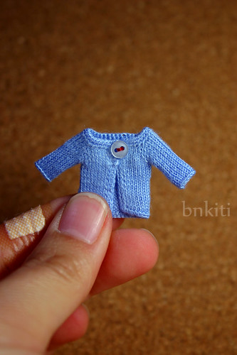 mini knit, 1/12 scale