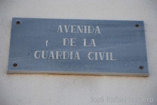 Placas: Avenida de la Guardia Civil