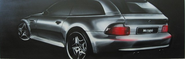 BMW Z3 M Coupe Painting