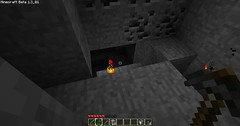 Minecraft - There it is! (Reece Bennett) Tags: blog mine cave minecraft benneyboy444