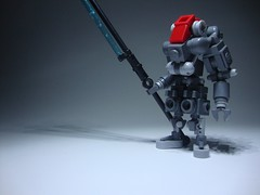 HK Poseidon Lancer-Class Mk. 12 (jestin pern) Tags: fiction robot lego space 9 science fi mk sci mecha bot mech zulu hardsuit