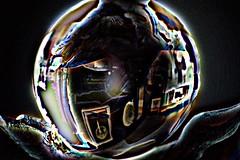 Sleepwalking (eotiv) Tags: distortion abstract ball crystal dream warped vision sphere future nightmare dislocation dreamscape sleepwalk