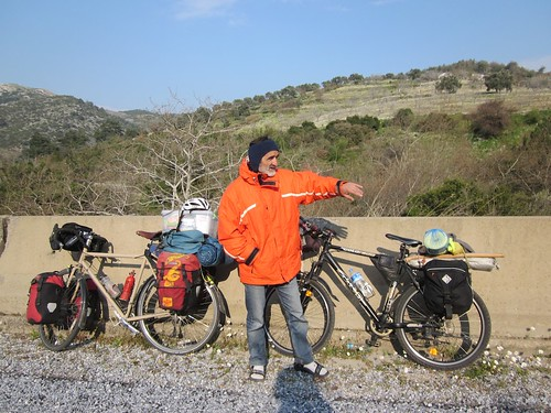 Turkish cyclist I met on the road.