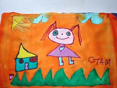 Pintura em Seda (Atelier Mnica de Godoi) Tags: silk seda mig atelier trabalhosdealunos mnicadegodoi