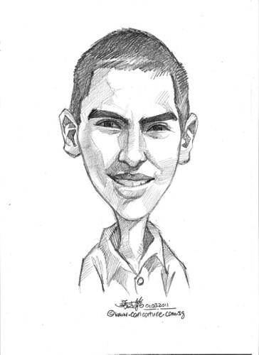 caricature in pencil - 1