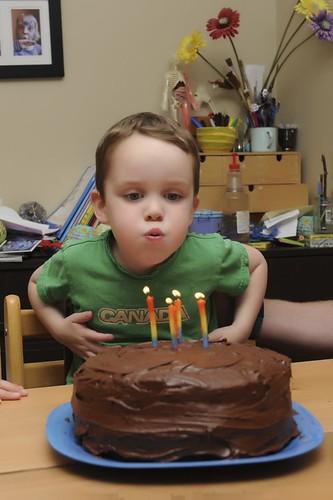 Happy Four Birthday!