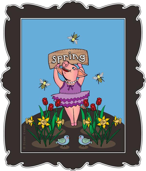 Spring piggy