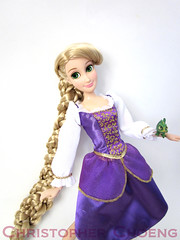 I cant help but feel liketheyre meant for me. (Christo3furr) Tags: mandy store doll disney moore pascal rapunzel tangled