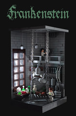 Mary Shelley  Frankenstein (Title) (Xenomurphy) Tags: lab lego victor henry frankenstein shelley marry clerval wollstonecraft