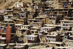 Traditional Berber village (jcm715) Tags: poverty life old houses mountains streets architecture rural ancient village northafrica hill poor mosque morocco berber arab valley atlas historical washing islamic indigenous developing undeveloped