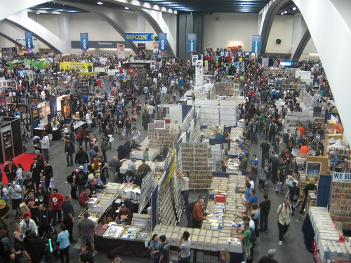 The Wondercon exhibit hall.