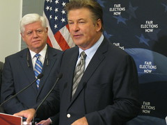 Alec Baldwin Talks Campaign Finance