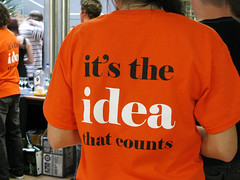 It´s the idea that counts