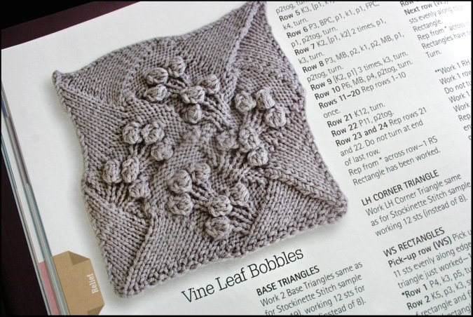Never Not Knitting: Week 3: Book Review: Entrelac