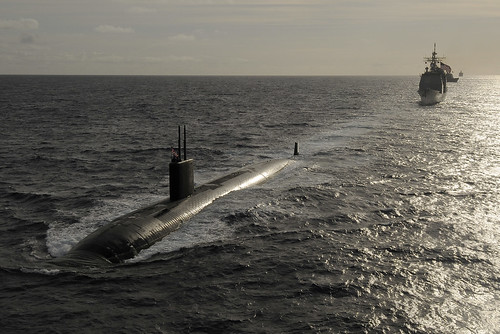 フリー写真素材, 乗り物, 船・船舶, 軍用船, 潜水艦, ツーソン (SSN-), アメリカ海軍,
