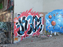 Mock (Grimey  Trains) Tags: street canada art vancouver graffiti bc burner mock wizards leeside