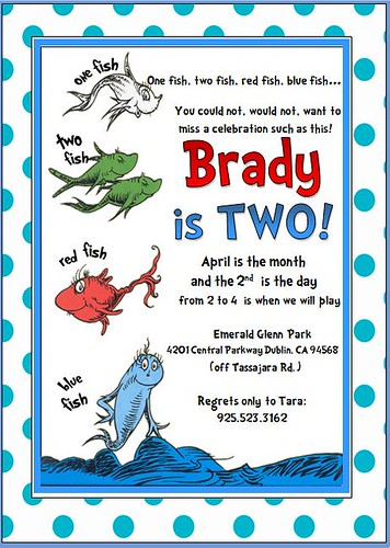 Fish Invitations Birthday Gallery Invitation Templates Free Download