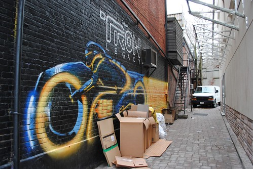 Tron Graffiti and Boxes