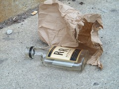 the rolls royce of rogers park (VVVvoy) Tags: brown chicago bag lunch rich rr whiskey special rare