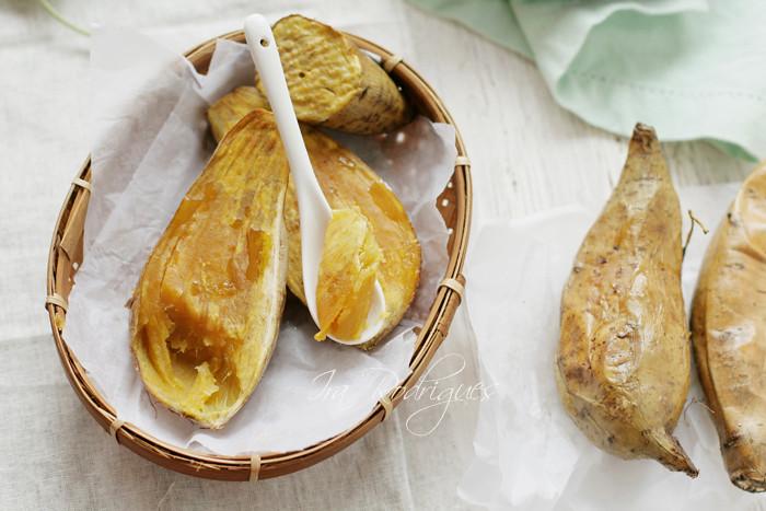 Oven roasted ubi madu ( sweet honey potato ) from Cilembu West java