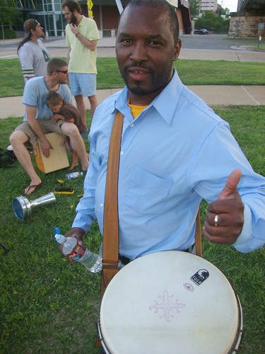 Shreveport Drum Circle by trudeau