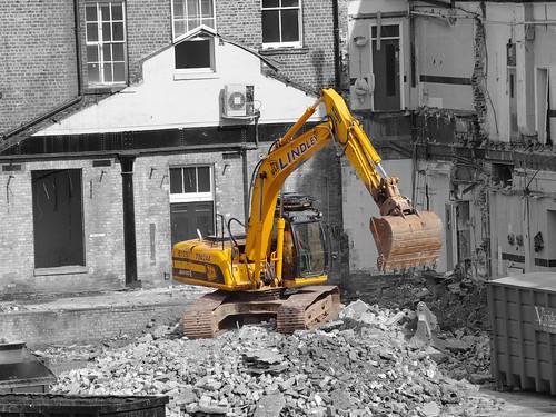 Queen Street Station Demolition 3
