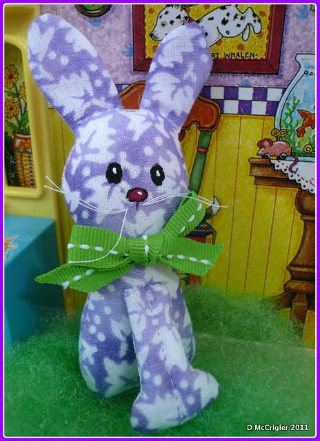 lavendar bunny