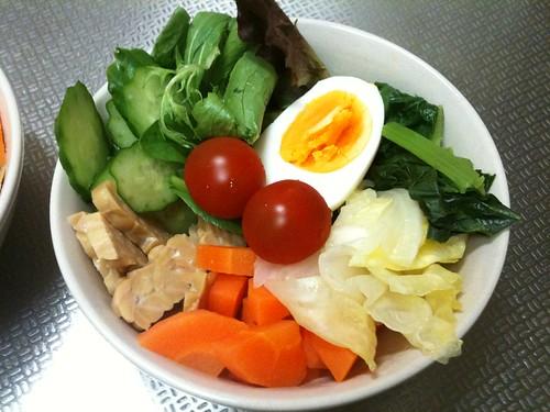 朝食サラダ(2011/4/10)