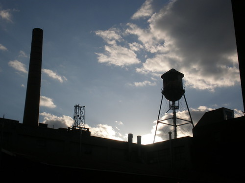 the top of the brooklyn brewery, williamsburg, brooklyn