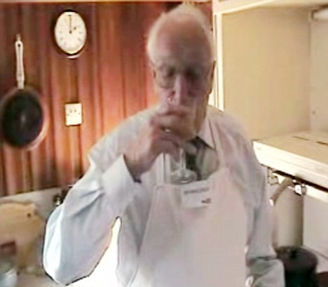 "Clip from Peter's ""Geriatric1927 Cooking Video""."