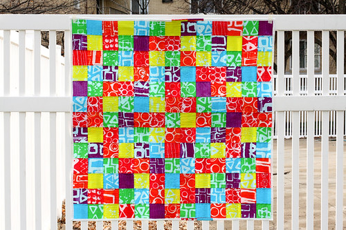 Thesis Quilt - Finished Top