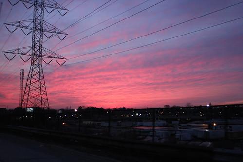 Toronto's Red Sky